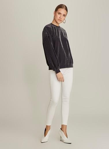 Ng Style Simli Sweatshirt Siyah